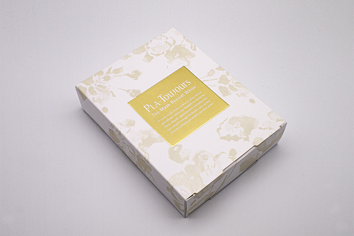 PLA-Toujours The Mask リバイバルホワイトの外箱写真