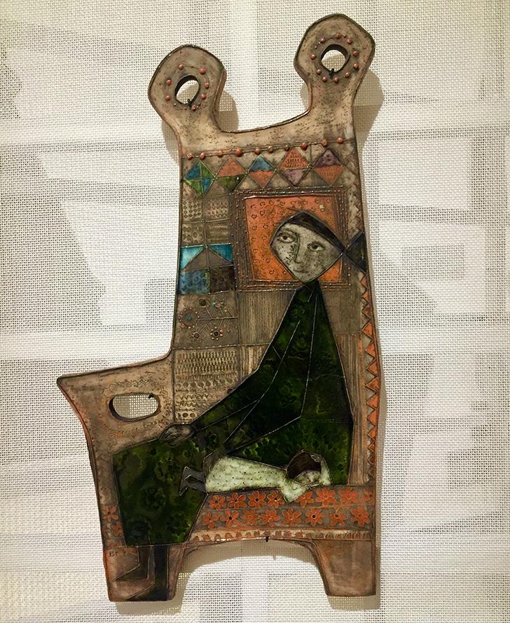 ルート・ブリュック「肘掛け椅子」の写真