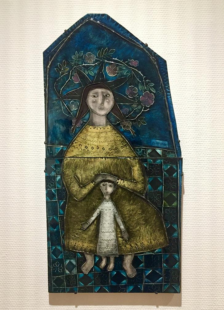 ルート・ブリュック「母子」の写真